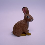 "1"" rabbit-sitting"