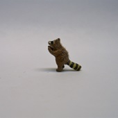 "1/144"" raccoon reaching"