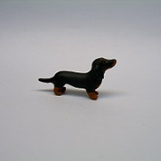 "1/2"" dog-dachshund"