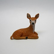"1/2"" laying deer"