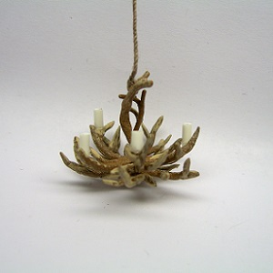 "1/4"" antler chandalier-double layer"