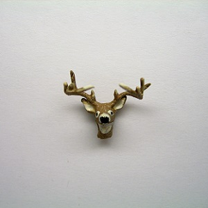 "1/4"" deer head - Click Image to Close"