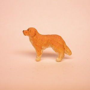"1/4"" golden retriever standing"