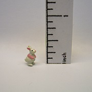 bunny toy standing